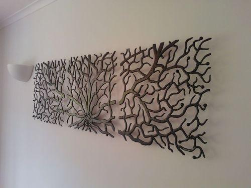 metal art tree branches - Metal Art Decor