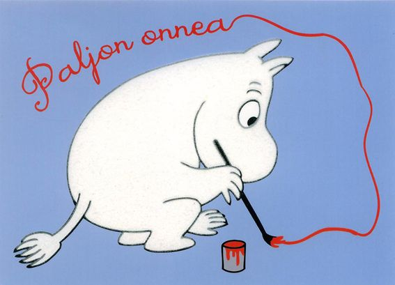 Moomin - Paljon onnea | Flickr - Photo Sharing!