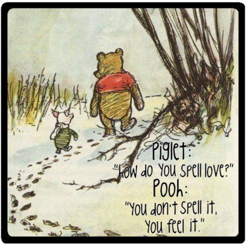 Pooh......so wise