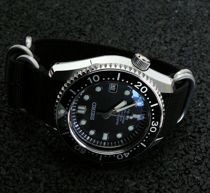 Seiko MM300 strap options   MM300 SBDX001, 002, 003, 012, 017 ...
