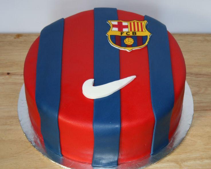 Cake Design Barcelona : Barcelona Soccer cake by KB Cakes www.kbcakes.me KB ...