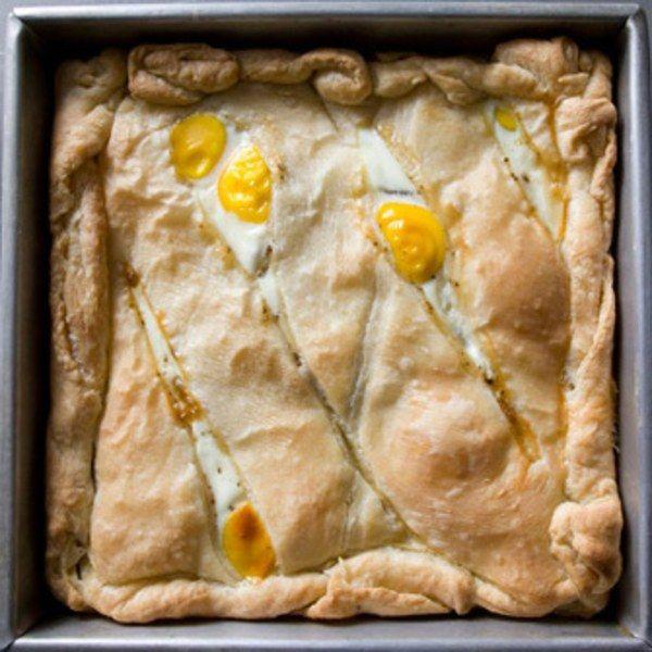 Egg, Potato, and Prosciutto Pie