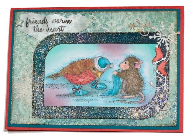Creative Smiles - my little crafting world: House Mouse Challenge Anything Goes with Option Theme FROSTY