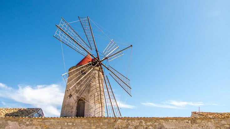 Trapani a été une ville très riche, grâce à la vente de sel.
