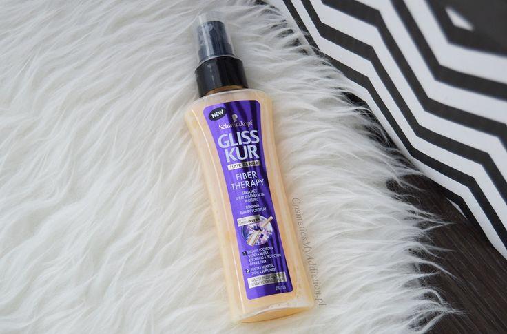 Gliss kur - Fiber Therapy - Spajający spray do włosów