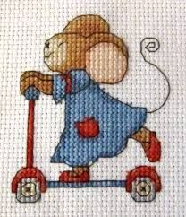Furry Tales Fun on a Scooter The World of Cross Stitching Issue 202 Saved