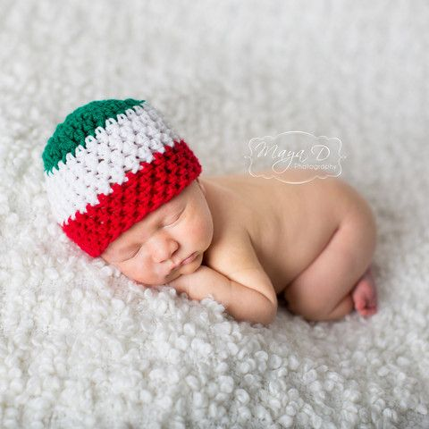 Viva Italia Baby Boy Striped Beanie Hat - Italian Hat   Viva Italia! We love everything Italian so why not celebrate your baby's Italian heritage with this adorable Italian baby hat from Melondipity? Trust us, this hat is even more delicious than your favorite spaghetti!   $19.99 USD