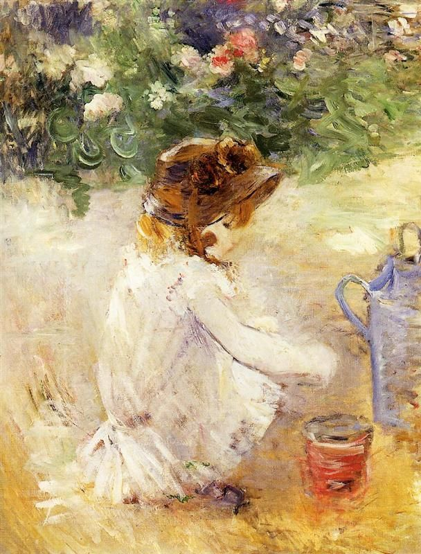 Lucie Leon at the Piano - Berthe Morisot - WikiArt.org
