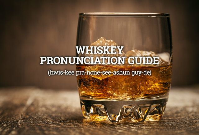 You're Pronouncing These Whiskeys Completely Wrong