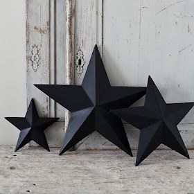 Cereal Box star & template....nice cheap accessory for the home
