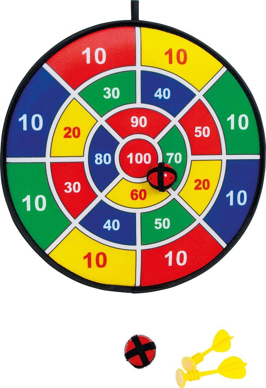 Dartscheibe, Klett- Lust auf eine Partie Dart? Dart ist einfach das Spiel für die ganze Familie. Aufgrund der Bälle und Pfeile aus Klett ist es sogar völlig ungefährlich für den. Mit Schwung gezielt, haften die Bälle und zwei Pfeile an der Dartscheibe aus Filz. Am Ende wir mit Hilfe der Punktzahlen an der Scheibe der Sieger ermittelt. Höhe: ca. 1 cm, Ø ca. 37 cm