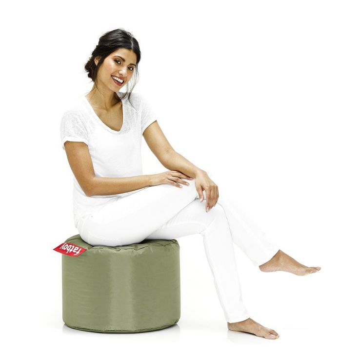 Fatboy Point Small Bean Bag Chair Olive Green - PNT-OLV