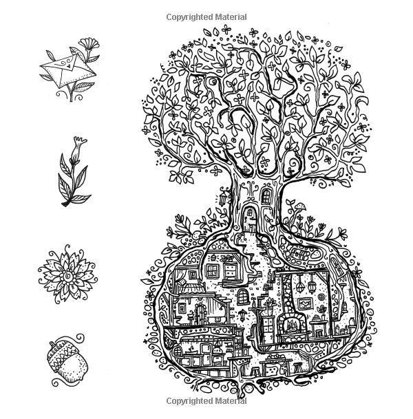 20 besten Malvorlagen Baumhaus Bilder auf Pinterest
