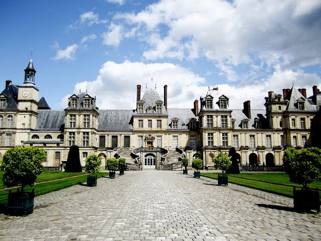 Fontainebleau. Fabulous business trip to France. Stopped here on the way from Paris to Orleans.