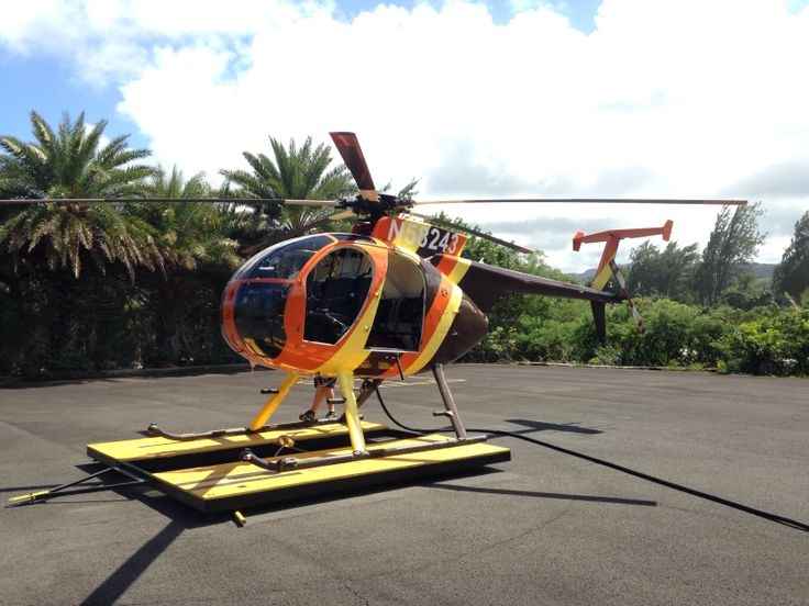 Magnum PI bird flown by Paradise Helicopters out of Turtle Bay Resort on The North Shore.
