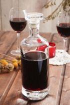 Karafka szklana do whisky i nalewek z korkiem EDWANEX BOTTLE 0,8 l