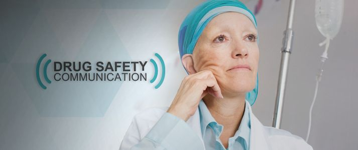 Cancer drug docetaxel can cause alcohol intoxication Safety warning to be added to drug label