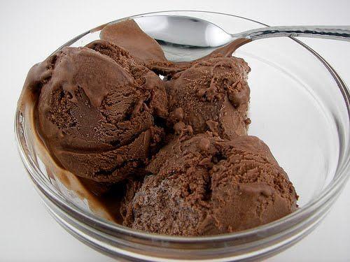 Me Encanta el Chocolate: Helado Casero de Chocolate