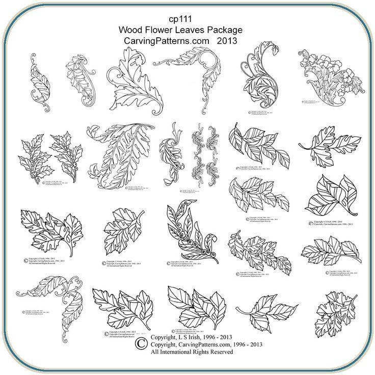 Scroll Saw Patterns Flower