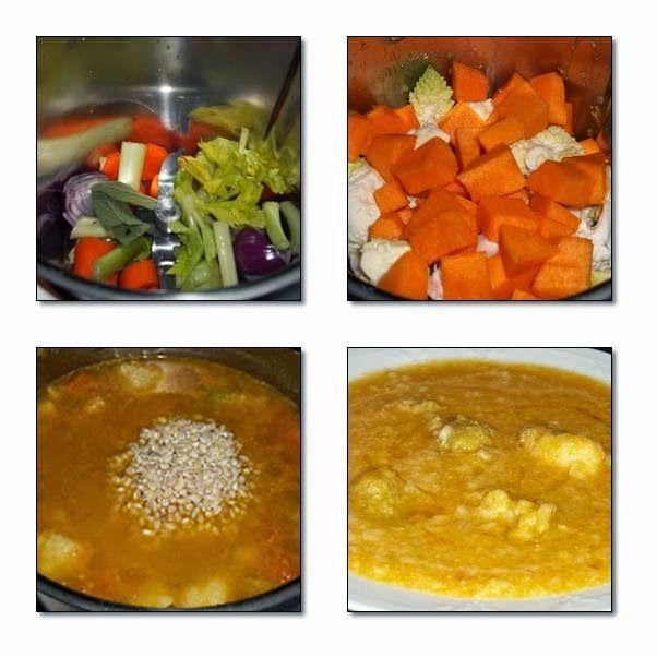 Le ricette di Valentina & Bimby: ZUPPA CREMOSA