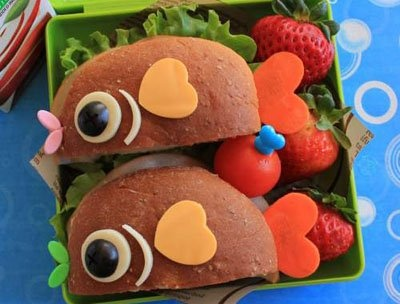 20 Great Lunch Box Ideas for Kids: Sandwiches, Bento Boxes, For Kids, Lunches Idea, Fish, Food, Boxes Lunches, Kids Lunches Boxes, Lunchbox