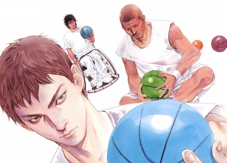 Real is a manga about handicap,very interesting!