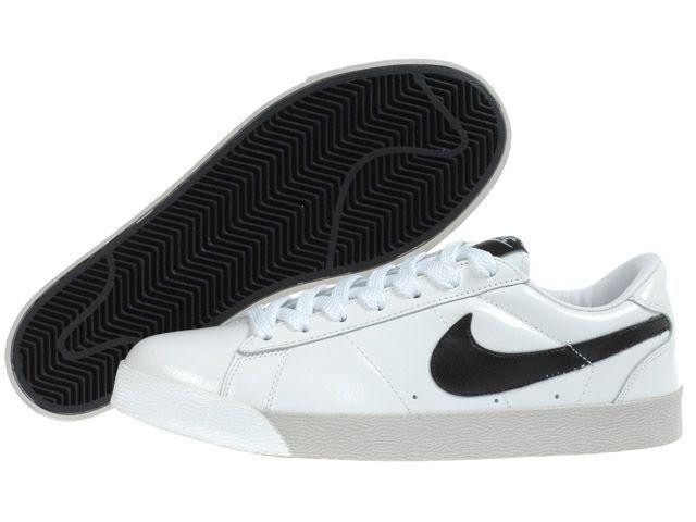 nike blazer white and black