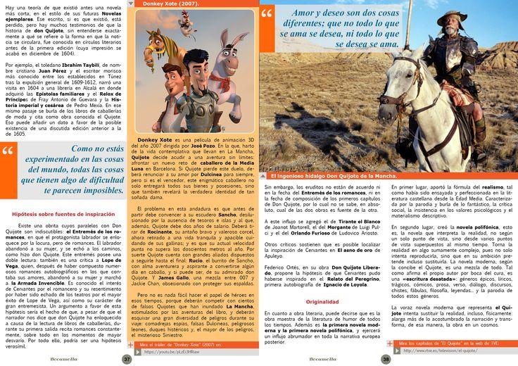 Don Quixote. Page 2/2. Bocamolla Issue #5.