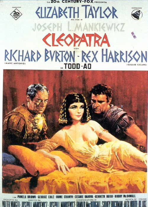 Cleopatra..loved the costumes in this movie                                                                                                                                                                                 Mais