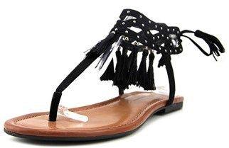 Jessica Simpson Kamel Open-toe Canvas Slingback Sandal.