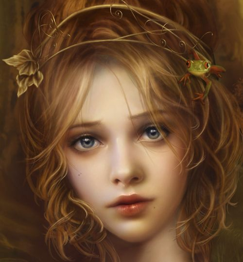 pretty fairy portrait