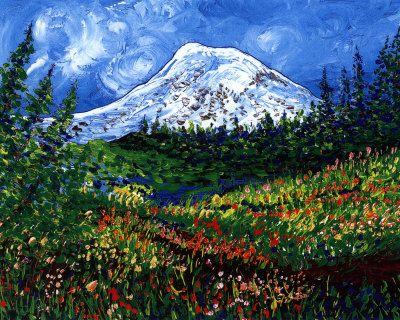 Mount Rainier - Leone Ardo