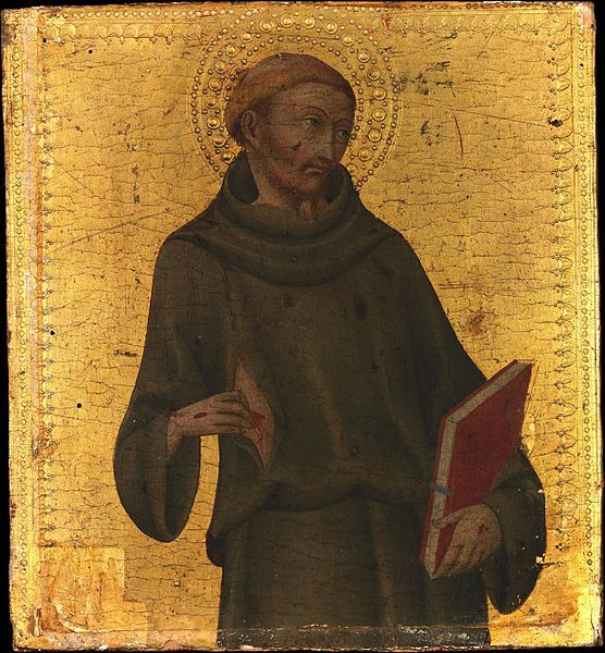 Sano di Pietro, San Francesco, 1450,  Metropolitan Museum of Art, New York
