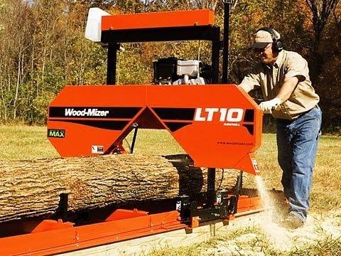 Wood Mizer - LT10 Portable sawmill