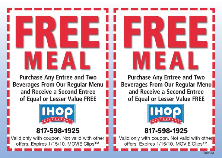 ihop coupons buy one get one free - photo #4
