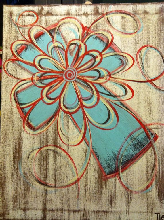 ... Painting Cross, Canvas Art, Cross Canvas Painting, Light Turquoise