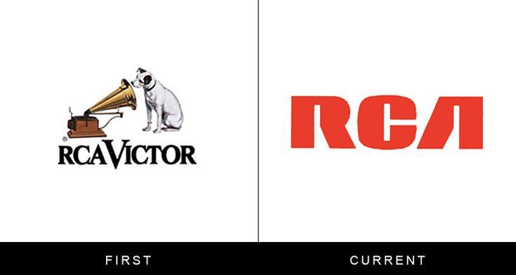The original and current form of famous logos | StockLogos.com