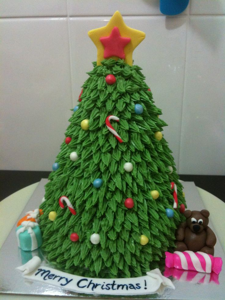 Cake Decorating Ideas Trees : 1000+ ideas about Tree Cakes on Pinterest Christmas ...