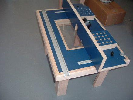 Meu Design da tabela Primeiro Router