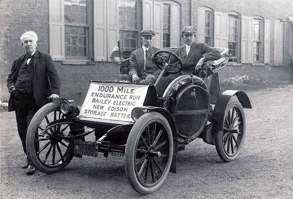 1910 Electric Car