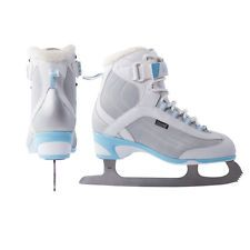New DR Allure soft boot girl's ice figure skates size sz 4 womens ladies junior