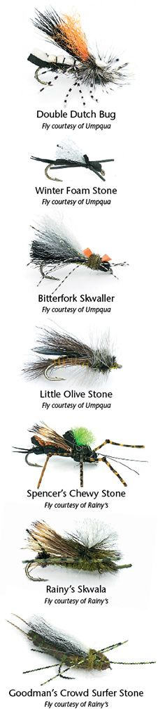 By Don Roberts Early-season stonefly hatches are more about what they're not than about what they are. This is not the time to go online and madly scroll through vaunted, seasonally prescribed fly patterns. Nor is it the...