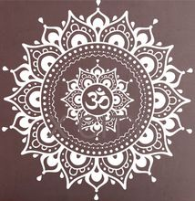 Mandala Pattern Big Wall Decal Vinyl Art Sticker Yoga Lotus ...