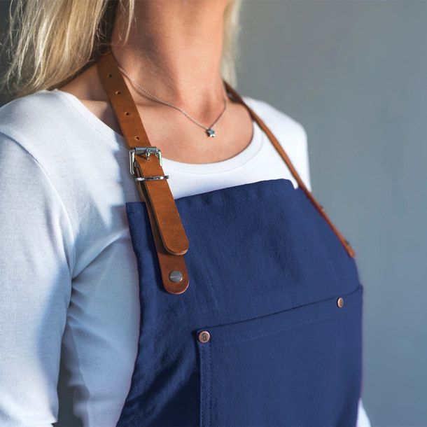 British Navy Apron by Risdon & Risdon — handcrafted in England.