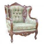 Antique Baroque Sofa 1 Seater