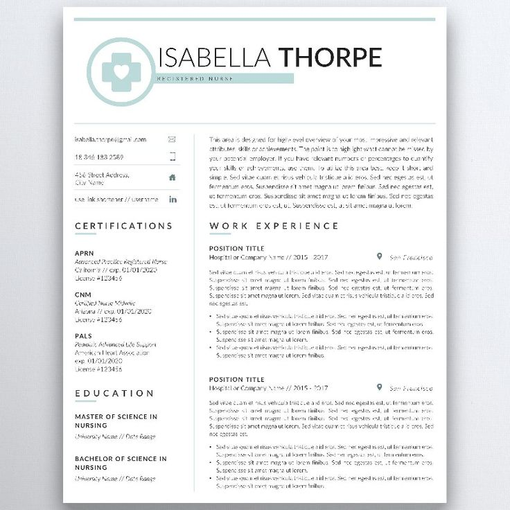 Excited to share the latest addition to my #etsy shop: Nursing Resume Template 5 Pages | Nurse Resume - Registered Nurse - Doctor - Nurse CV Template - RN Resume - Medical Resume - CNA Resume #curriculumvitae #cnaresume #medicalcv #nursecv #resumeword http://etsy.me/2CI09UU