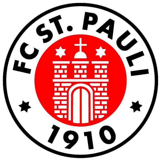 st pauli f c german 1st division bundesliga bundesliga logo football team logos sports team logos pinterest