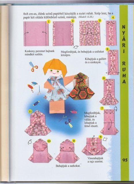 jurk vouwen met kleuters