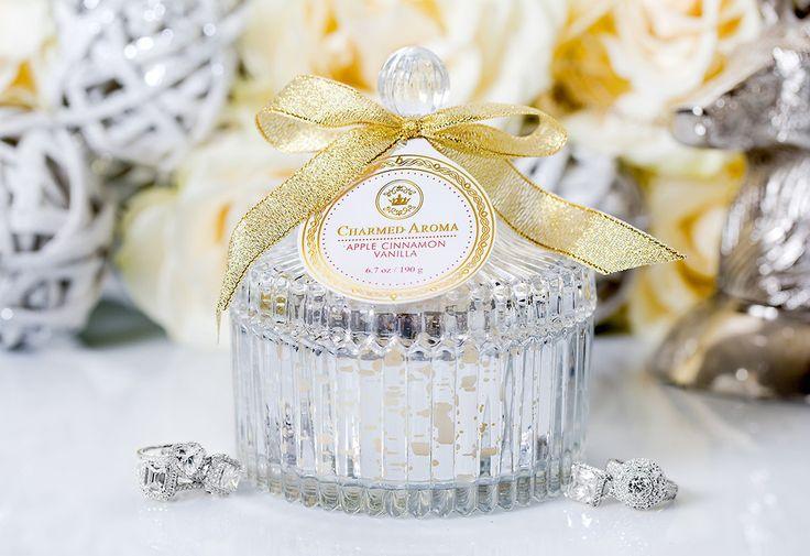 Sterling Candle - Apple Cinnamon Vanilla – Charmed Aroma