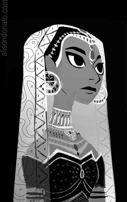 Alison's Art Blog: Indian Brides